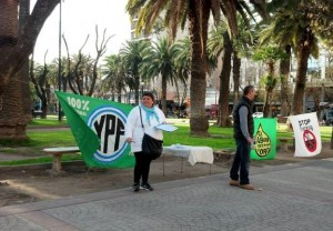 Campaña contra el Fracking