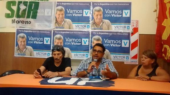 Junta en Moreno