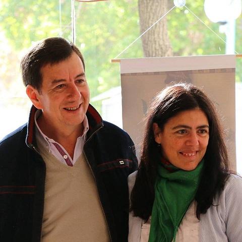 Aguirre con L.García Vazquez