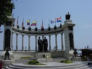 300px-Guayaquil_LaRotonda_Bolivar_SanMartin
